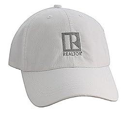 Silver Edition Performance Cap - REALTOR® Logo Branded (White)