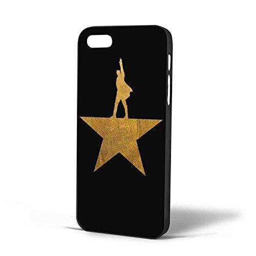 Hamilton Logo Gold for Iphone Case (iPhone 6s plus Black )