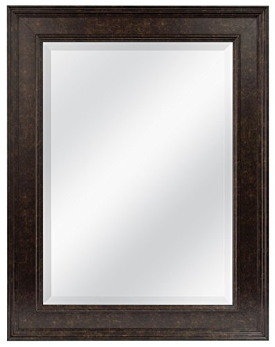 "MCS 15.5"" x 21.5"" Wall Mirror, 21.5 by 27.5-Inch, Bronze"