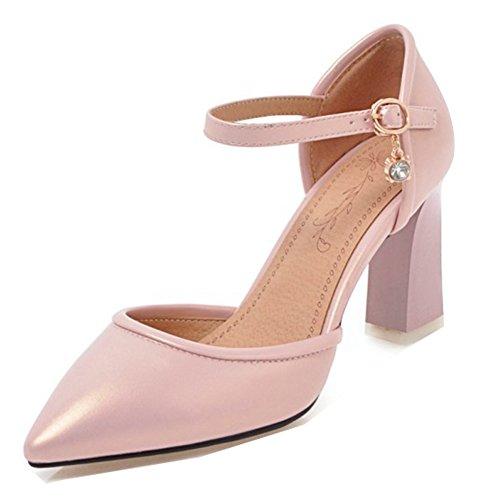Sandale talon mi-haut avec Rose ThCoach y7Zb5
