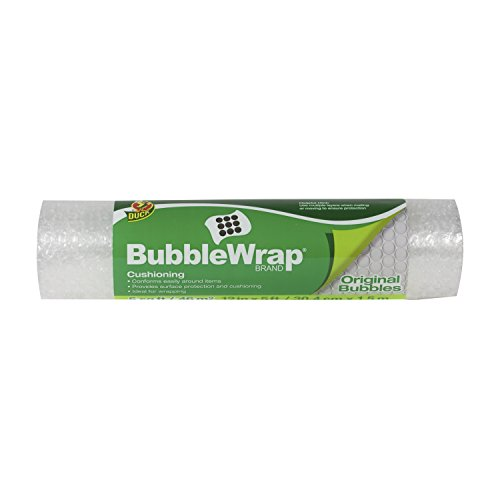 Duck Brand Bubble Wrap Original Protective Packaging Single Roll