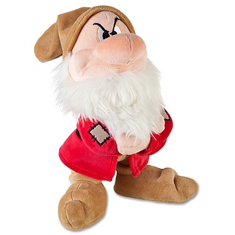Authentic Disney Snow White and the Seven Dwarfs: Grumpy Plush -- 11'' H