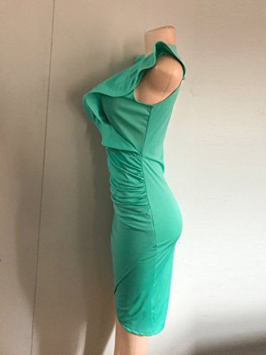 para Vestido mujer Verde Vestido para VERTTEE VERTTEE IzCgqqaw