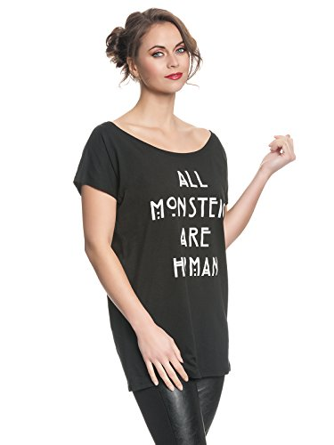 American Horror Story All Monsters Are Human Camiseta Mujer Negro negro