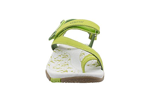 nbsp;pair Kefas women's 37 Size 1 sandals Green EU fOndwSUx