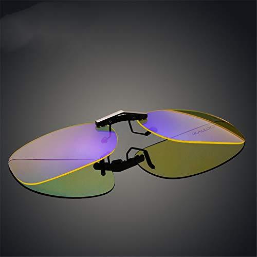 protección Fatiga para Ojos Azules Clips Gafas B Esports protección Anti los Gafas miopía Anti para KOMNY radiación Ojo B computadora de qPX0wx