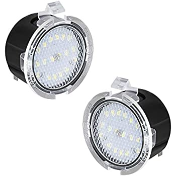 Amazon Com Ruxifey Led Side Mirror Puddle Lights Right