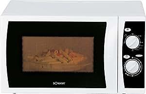 Bomann MWG 2237 CB - Microondas (1050W, 44 cm, 34 cm, 25,5 cm, 230 V, 50 Hz, 440 x 340 x 255 mm) Color blanco