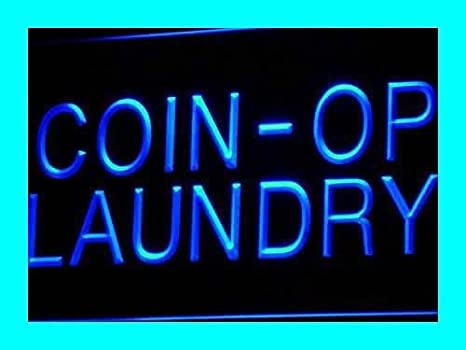 Amazon.com: Multi Color i391-c Coin-op Laundry Dry Clean Display Neon LED Sign with Remote Control, 20 Colors, 19 Dynamic Modes, Speed & Brightness ...