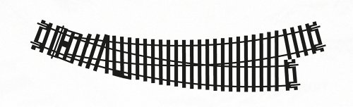 Hornby HO/OO Gauge R8074 Left-Hand Curved Point, 2nd Radius, 22.5 and ()
