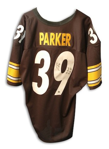 - Autographed Willie Parker Steelers Jersey inscribed