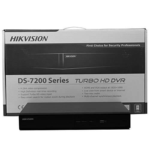 Hikvision DS-7208HGHI-SH 8CH DVR,Turbo HD Black (Renewed)