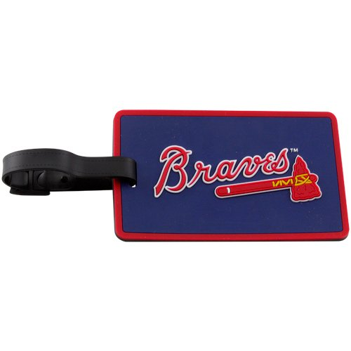 - MLB Atlanta Braves Soft Bag Tag