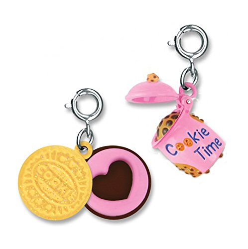 Price comparison product image CHARM IT! Cookie Lovers Opening Cookie Jar & Swivel Cookie 2 Charm Add On Set