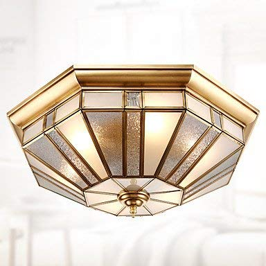 Modern Chandeliers Ceiling Lights Pendant 40 Tile Europe Type Lamps and Lanterns is Contracted to Absorb Dome Light Full Copper Lamp Sitting Room Bedroom Lamp Lighting Study Bedroom Lamp Resta 3C ce