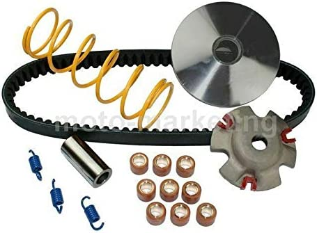 TUNING RACING VARIATOR DRIVE BELT KIT SET compatible with LEXMOTO FMX 125 GY6 Unbranded
