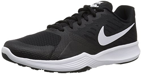 Black Ladies Trainers - NIKE Women's City Cross Trainer, Black/White, 9.0 Regular US