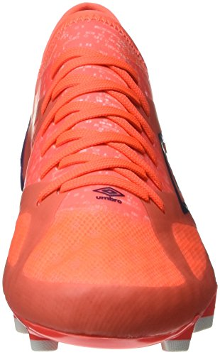 Umbro Men's Velocita III Pro Hg Football Boots Multicolour (Fiery Coral / Winter Bloom / White) OfcGWHyZCb