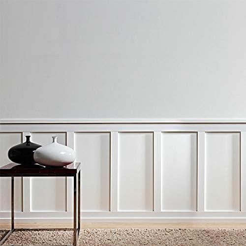 Sockelleiste Orac Decor SX163 AXXENT SQUARE Sockelleiste Wandleiste Zierleiste zeitloses klassisches Design wei/ß 2 m