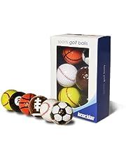 Longridge Grappige golfballen Sport, 6-pack