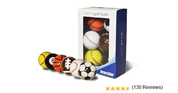 LONGRIDGE BLSP6 - Set de Pelotas de Deportes, 6 Piezas: Amazon.es ...