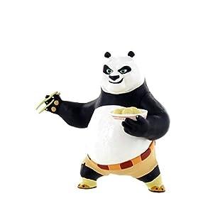 kung fu panda po action figure 9cm dreamworks po figurine po chopsticks by kung. Black Bedroom Furniture Sets. Home Design Ideas