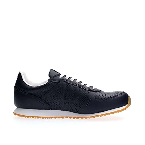Emporio Armani Armani Jeans 9350277p423, Sneakers Basses Homme Bleu