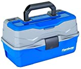Search : Flambeau Outdoors 6382TB 2-Tray - Classic Tray Tackle Box - Blue/Gray