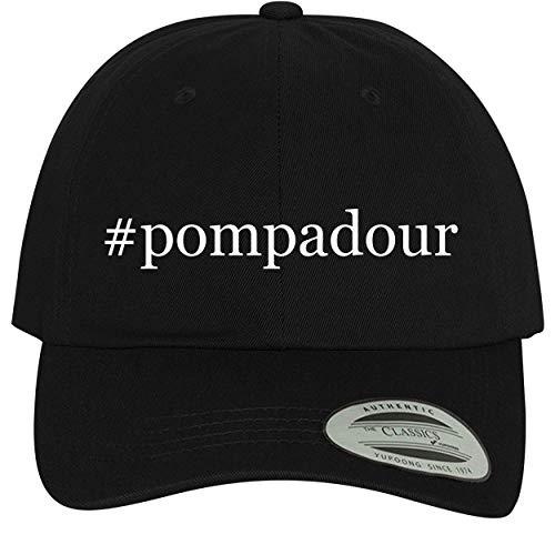 BH Cool Designs #Pompadour - Comfortable Dad Hat Baseball Cap, Black