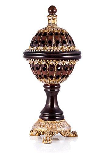 ATTAR MIST Charcoal Frankincense Incense Bakhoor Resin - Luxury Burner Globe