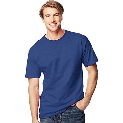 25ea44f9 Hanes Big Men's Beefy-t Tall T-Shirt-d, Deep Royal, 4XLT - Buy ...
