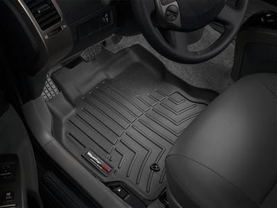2015-2016 Mercedes-Benz C-Class Black Floor Liners - Front Set