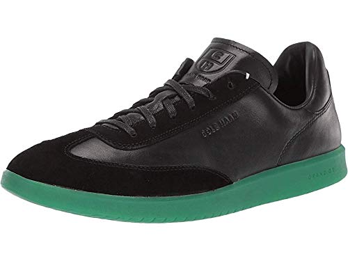Cole Haan Men's Grandpro Turf Sneaker Black/Green Translucent 10.5 D - Dark Cole Haan Green