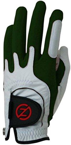 Zero Friction Men's Cabretta Premium Leather Golf Gloves, Left Hand, One Size, - Men Zero