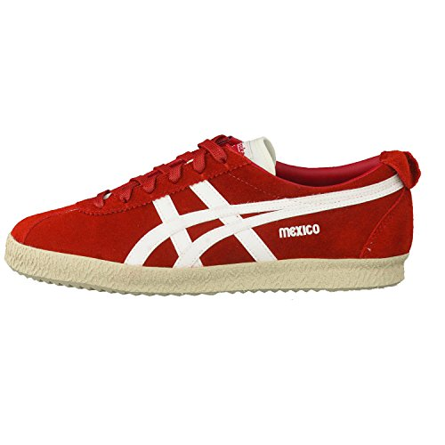 Onitsuka Tiger Mexico Delegation, Sneaker Unisex - Adulto Red/Slight White