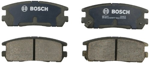 Isuzu Trooper Dealer - Bosch BP580 QuietCast Premium Semi-Metallic Disc Brake Pad Set For Select Acura SLX; Honda Passport; Isuzu Amigo, Axiom, Rodeo, Rodeo Sport, Trooper, VehiCROSS + More; Rear