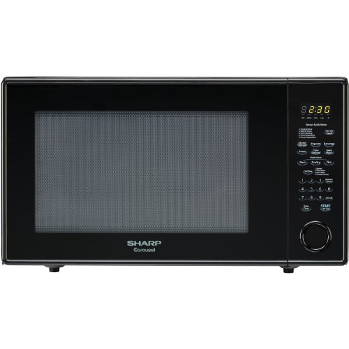 Sharp R659YK Sensor Microwave (2.2 cu.ft.), Black, Standard