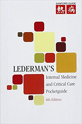 Ledermans internal medicine and critical care pocketguide ledermans internal medicine and critical care pocketguide 6th edition fandeluxe Images