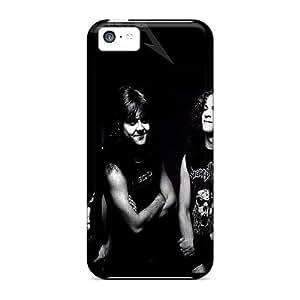 GoldenArea Case Cover For Iphone 5c - Retailer Packaging Metallica Protective Case