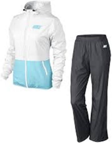 Nike Half Timer Warmup Chándal, Mujer, Blanco/Azul Cielo/Antracita ...