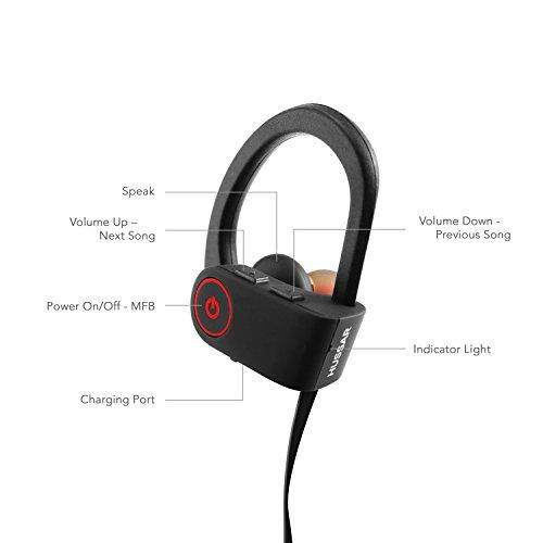 bluetooth headphones hussar magicbuds best wireless sports earphones with mic ipx7 waterproof. Black Bedroom Furniture Sets. Home Design Ideas
