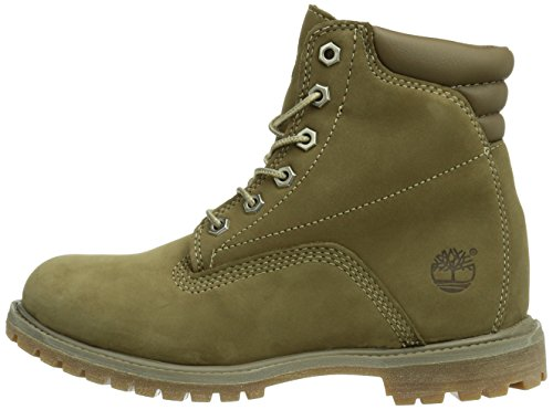 Bottes Femme 6 Waterproof taupe Basic Inch Waterville Marron Timberland wfUxWgqvCH