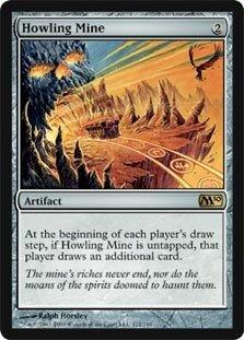 Magic: the Gathering - Howling Mine - Magic 2010 - Foil
