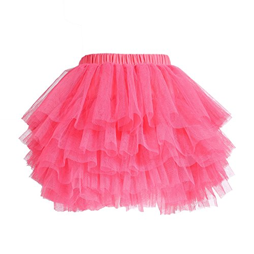 Tutu Skirt for Baby Girl Toddler 6 Layered Tulle Skirts - Cake Layered Girls