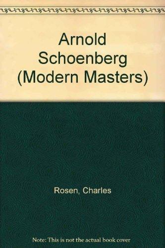 schoenberg modern masters
