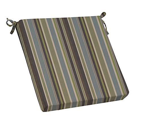 RSH Décor Indoor/Outdoor Sunbrella Brannon Whisper Striped Fabric 3