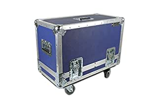anvil vox ac30 2 12 amp case w casters blue musical instruments. Black Bedroom Furniture Sets. Home Design Ideas