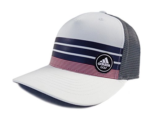 Center Stripe Cap - adidas Fashion Trucker Hat White/Purple One Size Fits Most