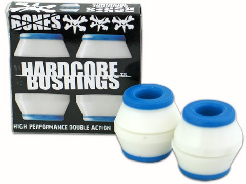 Bones Bushings Hardcore (White, Soft)