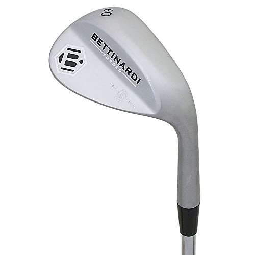 Bettinardi NEW H2 Forged 60° Satin Nickel Lob Wedge S200 Steel Stiff +1'' by Bettinardi